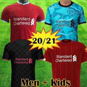 2020 2021 منزل بعيدا 3RD لكرة القدم الفانيلة الفانيلة كرة القدم 20 21 لكرة القدم قميص عدة الرجال والاطفال النساء أحمر أخضر أبيض أسود لكرة القدم الزي الرسمي