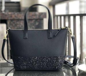 brand designer new glitter Patchwork shining shoulder crossbody shopping bags pu women handbag totes with Shoulder strap