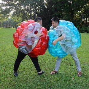 Inflável bolha zorb pára-choques corpo bola corporal salto grama jogo de esportes bola bola