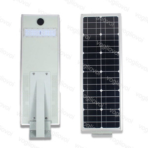 Solar Security Lights Motion Sensor Street Light 15W 20W LED Waterproof IP65 Integrated Aluminium Cool White For Outdoor Garden Park Road DHL