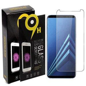 pour Samung A10e A20e A20 Core A40 A40S A60 A70 A80 A90 A9 2019 A9 Pro 2019 Protecteur d'écran 2.5D Regular 9H en verre trempé