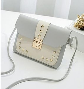 Hot 2020 Version Willow Nail Small Square Bag Designer Collection Bag Luxury Lock Chain Fashion Female Bag