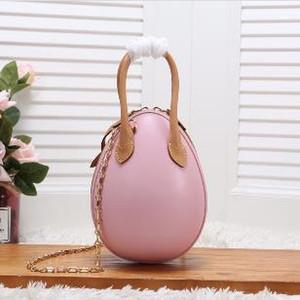 Box Lady Fashion EGG Bag Handbags Bag With Leather Purse Chain Shoulder Messenger Style New Woman's Genuine New Vkdpm