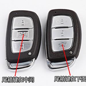 Car Smart Card Remote Key Shell для Hyundai I30 IX25 IX35 Elantra Sonata Verna Creta Tucson Solaris аварийный ключ