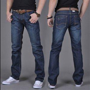 Autunno Dei jeans Degli Uomini allentati degli uomini di grandi dimensioni pantaloni tendenza giovanile pantaloni Nuovi jeans Casual Dritto-uomini demin jeans-GTD