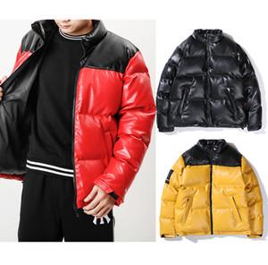 2020 neue Winter-Männer echtes Leder Daunenjacke Modetrend Jacke Baumwolle gefütterte Jacke Paar dicke warme Männer und Frauen kurz
