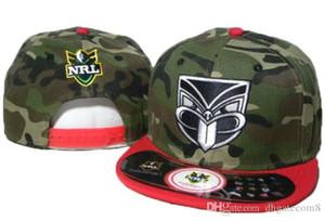 Top Moda quente novas NRL Auckland guerreiros Snapback Hat NRL Equipas snapbacks Chapéus bola ajustável Caps Homens Mulheres Verão Praia Sun Cap 02