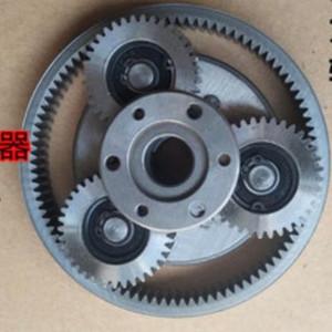 1Set 36T Gear Diametro: 38mm Spessore: 12mm Electric Vehicle motore in acciaio Gear + Gear Ring + frizione