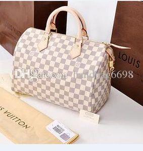 Classique de bonne qualité des femmes de cuir Speedy 30 sacs à main sacs à bandoulière Sac shopping fourre-tout sac P51062