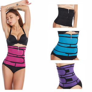 US Stock Plus Size Body Shaper Waist Trainer Belt Women Postpartum Belly Slimming Underwear Modeling Strap Shapewear Tummy Fitness