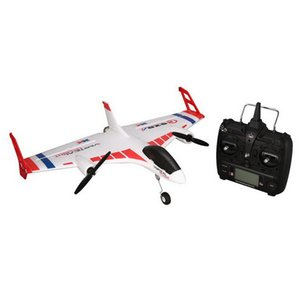 XK X520 RC 6CH 3D 6G RC Airplane VTOL Vertical Takeoff Land Delta Wing RC Drone Fixed Wing Plane Toy with Mode Switch LED Light