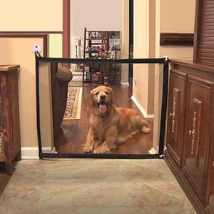 Valla Puerta perro acoplamiento mágico Pet Barrier plegable Safe Guard cubierta Separación al aire libre perro de perrito del recinto Protect alimentos para mascotas cerca Pet