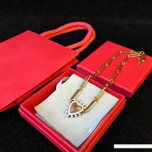 Encantos Design Estrela Pérola Coração Moda Colares do Luxo Colar Golden Link Mulheres colares de jóias finas de presentes do amante