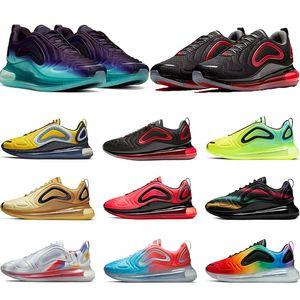 Nike Air Max 720 Nouveau Chaussures De Course Hommes Femmes Northern Lights Sunrise Sea Forest Gris Carbone Total Eclipse Hommes Designer Sport Baskets Taille 36-45