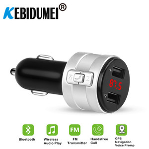 ar Electronics Accessories FM Transmitters USB AUX Bluetooth FM Transmitter Modulator 3.1A Dual USB Ports Car Charger MP3 Player Wireless...