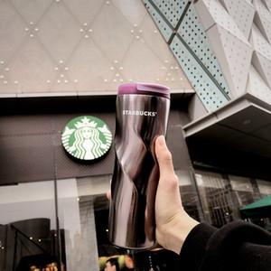 Nouveau Starbucks rêve violet spirale Ventouse acier inoxydable Coupe d'accompagnement série de fleurs de cerisier sur le sport dooor tasse à café 473ml