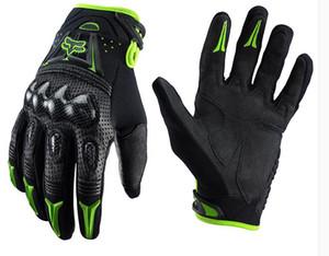 Fuoristrada guanti di pelle KTM moto da corsa Lindau sede guanti professionali Moto guanti anti-caduta