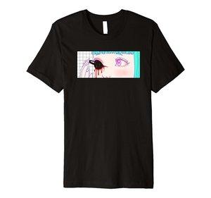 Пространство Vaporwave брутто эстетическое аниме манга Оптовая скидка Skate прохладный 2019 лето новый бренд футболка мужчины хип-хоп мужчины футболки повседневная