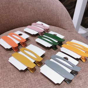 20200525 Новая мода конфеты цвет комплект зажим для волос