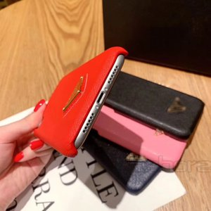 Moda triángulo de teléfono para el iPhone 11 11Pro 11promax x x xr máximo 8 8plus 7 7plus teléfono de la manera colorida de la cubierta de la cubierta Volver Smartphone