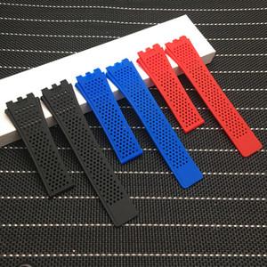 22mm Silikon-Gummi-Armband für TAG HEUER Serie Männer Breathable Band Soft-Uhrenarmband für CARRERA Armband am Handgelenk