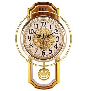 Vintage Pendeluhr Wandhauptdekor-Silent-Produkte Clock Shabby Chic Reloj Pared Grande Wohnkultur