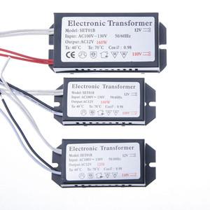 محول الإلكترونية 12 فولت مصابيح الهالوجين ac 110 فولت محول الإلكترونية 60 واط 120 واط 160 واط ac 100-130 فولت محول الإلكترونية
