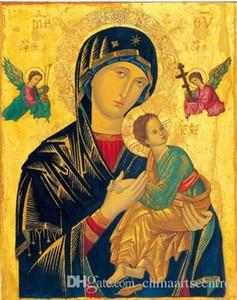 """vA. Alta qualidade pintado à mão HD Imprimir Classical impressionista Retrato Pintura a Óleo Art """"figuras religiosas"""" On p01 Canvas Wall Art Home Deco"""