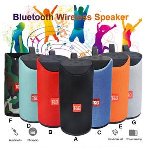 TG Bluetooth Speaker Altoparlante portatile Outdoor Wireless Mini Colonna 3D 10W musica stereo surround supporto FM TFCard Bass Box