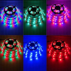 5M LED Strip 5050 DC12V 30LEDs m Flexible LED Light RGB Wifi Bluetooth Controller SMD5050 LED Strip Home Decoration Lamp