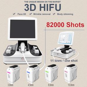 Salon kullanımı 3D hifu 20500 çekim hifu yüz germe Güzellik Ekipmanları hifu Kırışıklık Kaldırma 11 satır