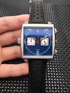 NUOVO Hotwholesale orologi di lusso, orologi di marca, vigilanza di quarzo vk64 uomini, in acciaio inossidabile 361L, 42mm, cronografo multifunzionale,