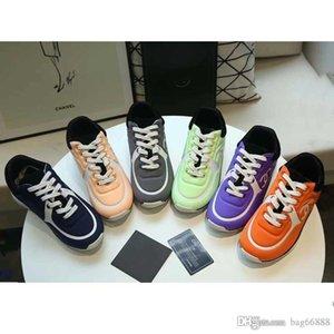 kutusu Sıcak SATIŞ Erkekler Tasarımcı Lüks Günlük Ayakkabılar Mix Renk PU Deri Kadınlar Baba Sneakers Moda Leisure Ayakkabı