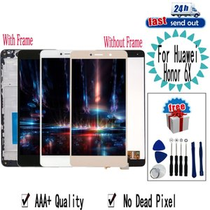 "5.5"" LCD For Huawei Honor 6X LCD Display BLN-L24 BLN-AL10 BLN-L21 BLN-L22 Touch Screen Digitizer Assembly Replacement with Frame"