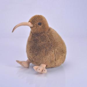 QWOK 28 cm Kiwi Oiseau En Peluche Jouet Nouvelle Zélande Mignonne Peluche En Peluche Animaux Enfants Jouets Cadeau pour Enfants Anniversaire