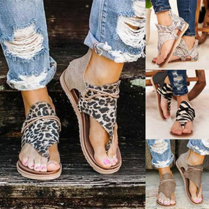 Gaoke Sandales Gladiator Peep Toe Zipper design spartiates femmes plat Summer Beach Ladies Chaussures Zapatos Chaussure