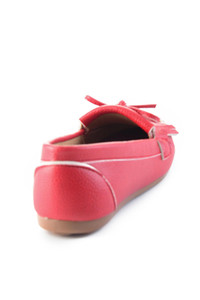 Bambi Red Women Loafer Shoes H0542123109