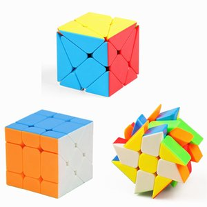 Moyu Mofangjiaoshi Cubing Classroom Aixs Cube Fisher Magic Cube Windmill Stickerless Speed Puzzle Twisted Toys For Children
