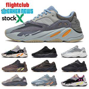 2020 Karbon Mavi 700 v2 Dalga Runner Kanye West Womens Koşu Ayakkabı Vanta 3M Atalet Statik Tephra Yardımcı Siyah Sneakers Boyut 46