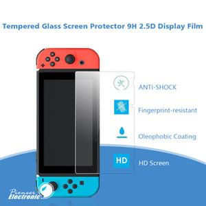 Schermo Premium temperato protezione di vetro della pellicola protettiva per Nintendo switch e Switch Lite HD radura anti-graffia senza imballaggio al dettaglio