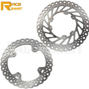 Motocicleta CNC dianteiro e traseiro freio a disco Para CR E 125 2002 - 2008 Motocicletas Brake Disc rotores CR 125R 2003 2004 2005