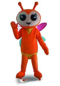 2018 Venda direta da fábrica mel firefly Fancy Dress Adulto Animal Mascot Costume frete grátis