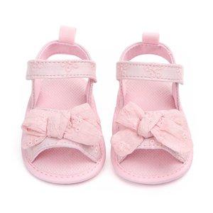 Kız bebekler Pamuk Baby için Sandalet Moda Yenidoğan Bow Kız Sandalet Pamuk Prenses Kız Shoes