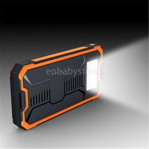50000mah Venda Nova Hot Solar Power Bank portátil Externa Solar Battery Com camping lâmpada Led lanterna de carregamento da bateria