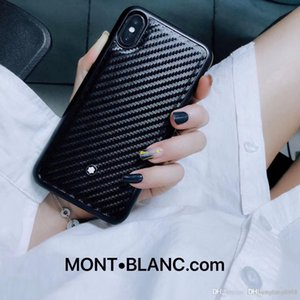 أزياء العلامة التجارية الكبيرة حالة الهاتف المحمول لفون X إكسس XR XS ماكس مصمم 7 8 زائد حقيبة جلد الهاتف المحمول 001