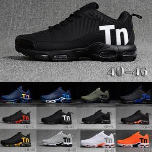 Orijinal Tn Mercurial Tn Artı Mens Sneakers Chaussures Homme TNS Erkekler Ayakkabı Gökkuşağı Man Hava Spor Eğitmenler Boyutları Eur40-47 ru88