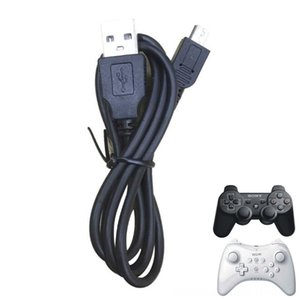 Mini usb charger Cables Game Accessories Power Cable Charging Cord Wire For Sony Playstation Dualshock 3 PS3 Controller Nintend WIIU Wii U P