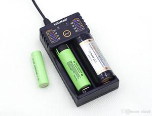 Lii-100 Lii-202 Lii-402 1.2 V 3.7 V 3.2 V 3.85 V 18650 18350 26650 10440 18350 NiMH bateria de lítio carregador inteligente