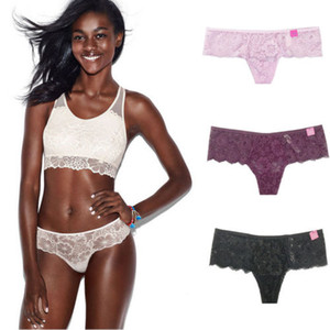 2019 Mulheres Ladies Lace G-string Briefs Calcinhas Lingerie Knickers