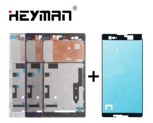 Корпус для Sony T2 Ultra Middle Front Frame корпус безеля ЖК-экран держатель рамы запчасти+клей